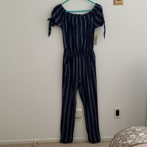 Brand new pant romper with pockets